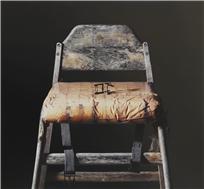 지석철. 2019-부재 (不在, Absence), 144 x 133.7cm, Oil on canvas, 2019